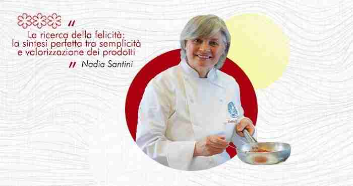 Donne chef Nadia Santini stella Michelin