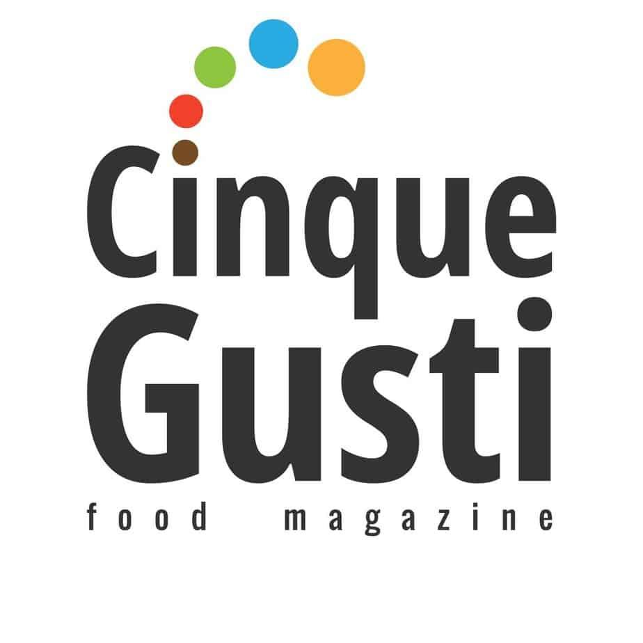 cinque gusti logo ufficiale food magazine