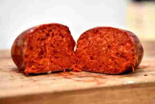 nduja prodotto tipico foto