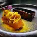 Wagyu Ribs laccata All'aceto Balsamico con textures di Zucca