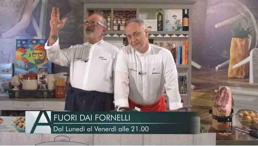 fuori dai fornelli con Luotto e Leoni