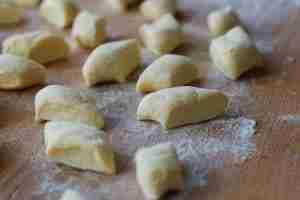 gnocchi di patate dettaglio