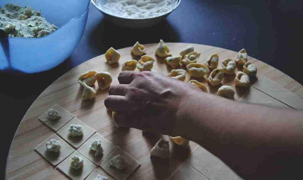 preparazione tortellini