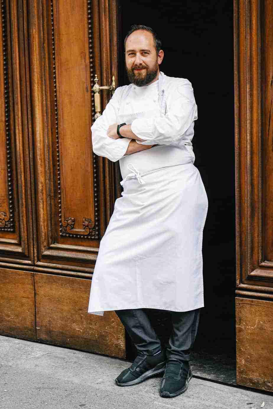 Lo chef Stefano Sforza al Ristorante Opera Torino