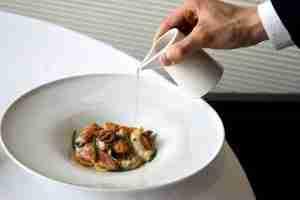 piatto chef federico belluco ristorante makore pescheria ferrara