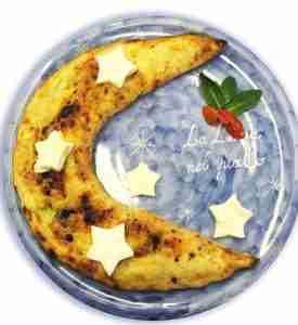 dea bendata la luna nel piatto
